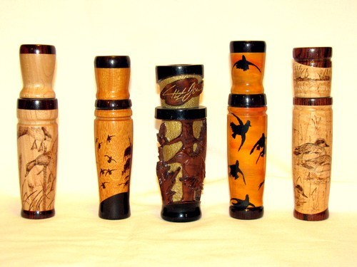 Teddy Lowe, Arkansas Duck Call Carver and Artist, teams with Jake