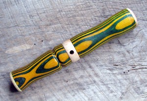 Green and Gold Inhale Exhale Deer Call