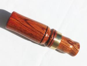 Brass Band on this Cocobolo Duck Call